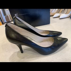 Michael kors leather heels pumps 8.5b women